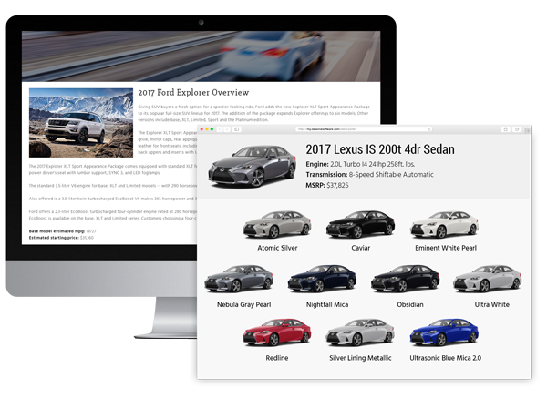 VIN-referenced-vehicle-images-and-editorial-content